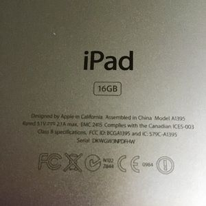 APPLE Other - Apple iPad 2.   16GB.   Perfect condition.